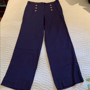 Nautical Navy Lilly Pulitzer Trousers